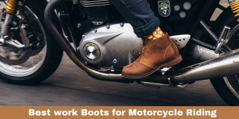 Best work Boots for Motorcycle Riding Review in 2021
