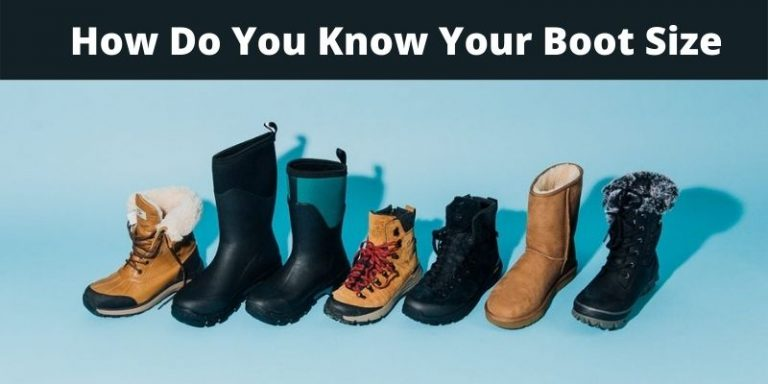 How Do You Know Your Boot Size